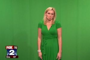 Jessica+Starr+shows+why+weather+girls+should+not+wear+a+Green+Dress